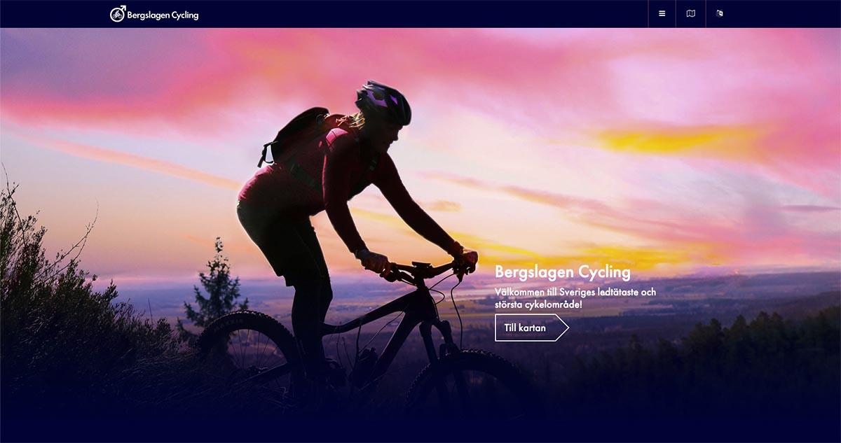 Bergslagen Cycling webbsida